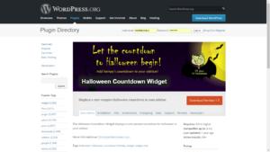 Halloween Countdown Widget